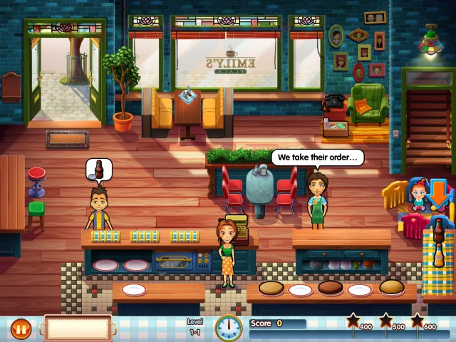 Restaurant 1 - Emily's huis