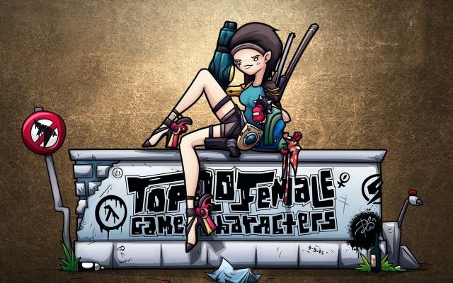 10 Stoere vrouwelijke game personages die je omver zullen blazen!