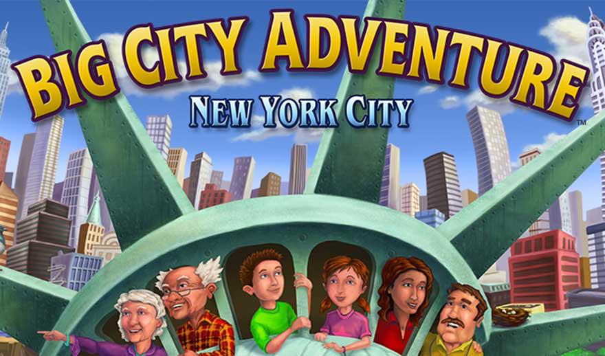 Big City Adventure – New York City Walkthrough