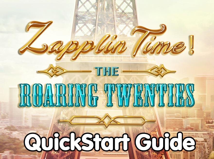 Zapplin Time! The Roaring Twenties – veelgestelde vragen & snelstartgids
