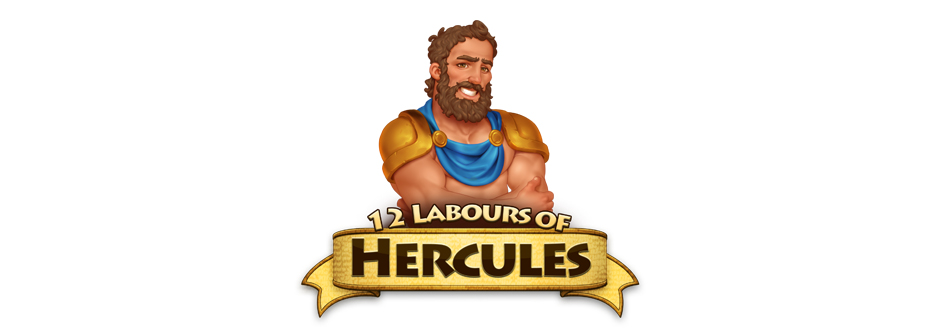 12 Labours of Hercules Character Logo - Zylom Premiere Exclusive