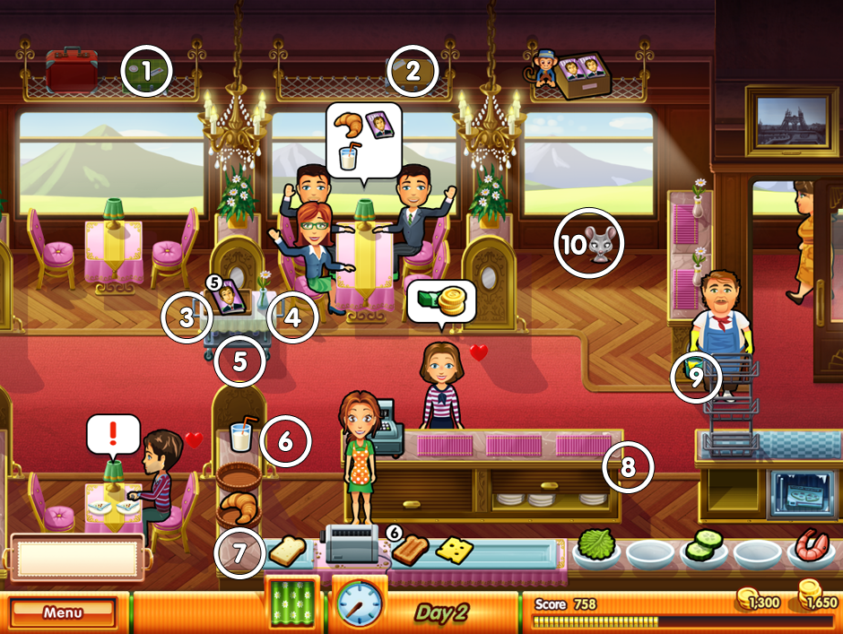 All mice locations - Restaurant 3 Fresco's Diner Express