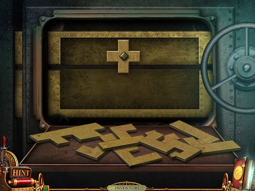 Empty puzzle from Nemo Secret Vulcania