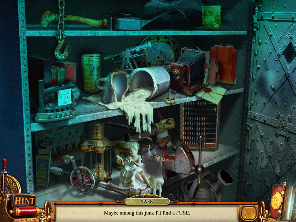 Hidden Object Scene - Closet Minigame 22 items