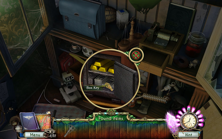Dreamatorium Dr Magnus 2 Box Key Safe Location