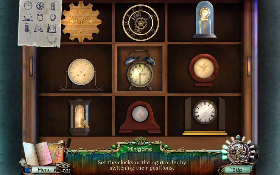 Dreamatorium Dr Magnus 2 Clock Arrangement Minigame Solution