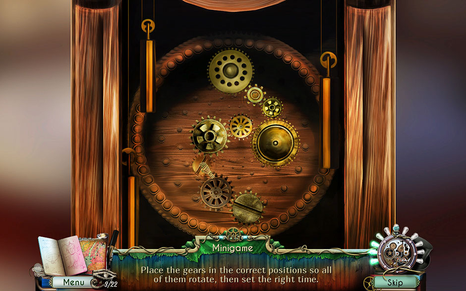 Dreamatorium Dr Magnus 2 Clock Minigame Gears Solution