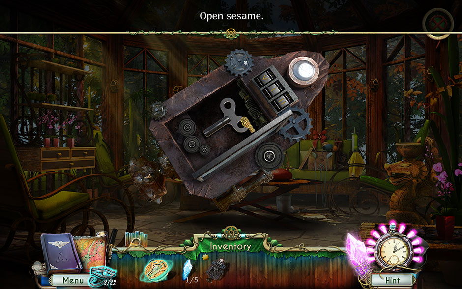 Dreamatorium Dr Magnus 2 Metal Box Opens Revealing Winding Key