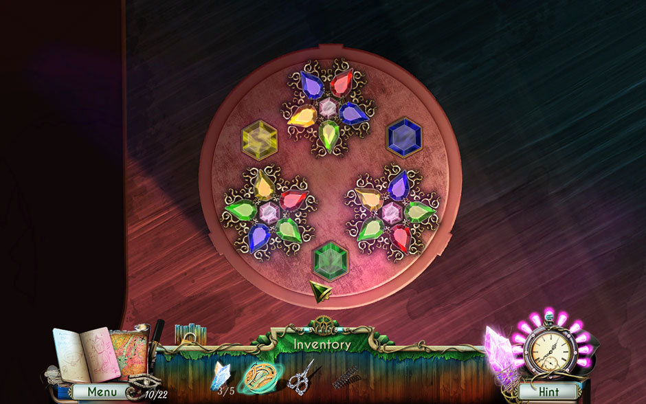 Dreamatorium Dr Magnus 2 Star Gem Minigame Solution