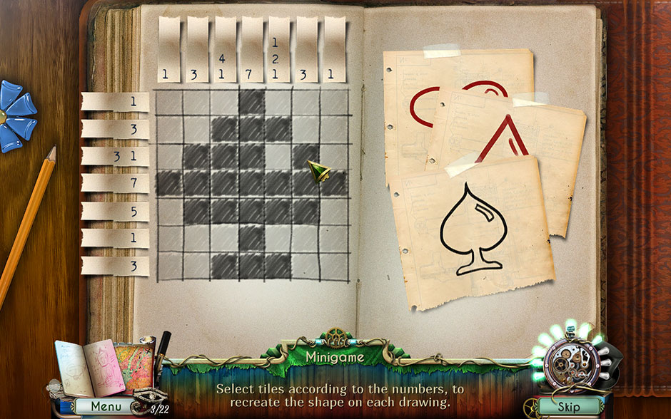 Dreamatorium Dr Magnus 2 Tile Minigame Spade Solution