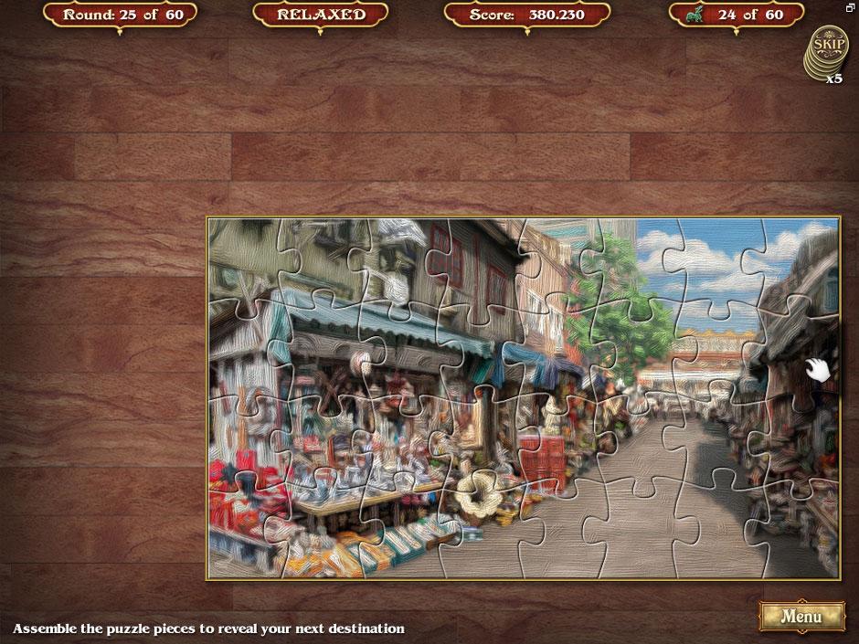 Big City Adventure Shanghai Round 25 Jigsaw Puzzle Solution