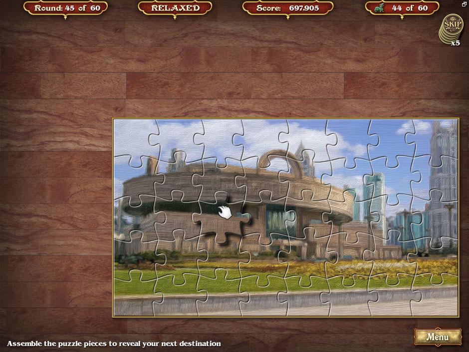 Big City Adventure Shanghai Round 45 Jigsaw Puzzle Solution