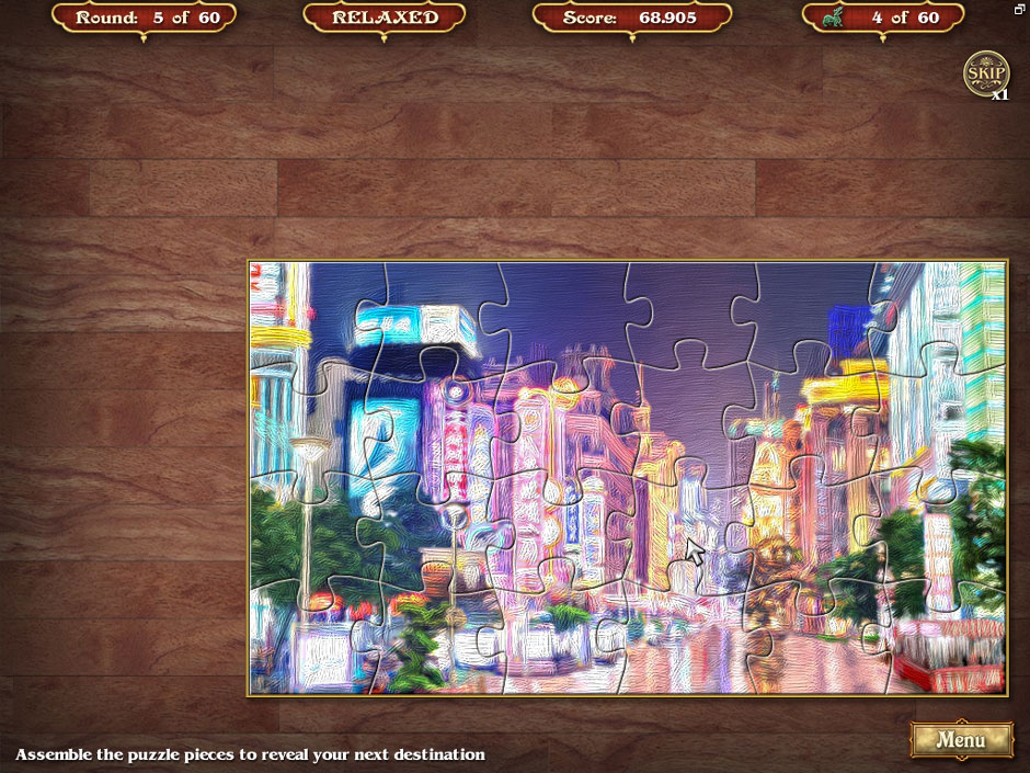 Big City Adventure Shanghai Round 5 Jigsaw Puzzle Solution