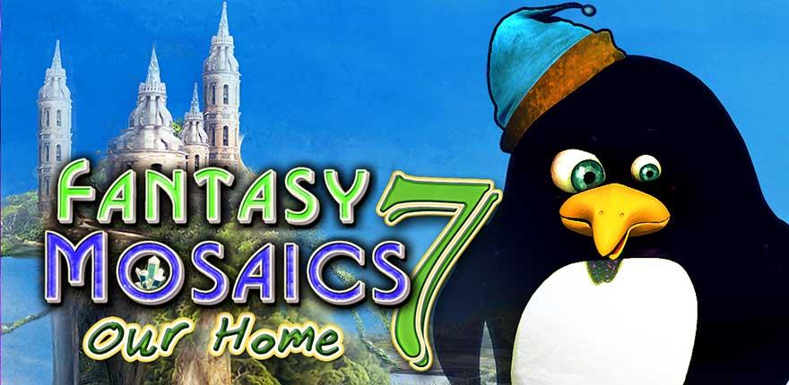 Fantasy Mosaics 7 – Our Home Walkthrough
