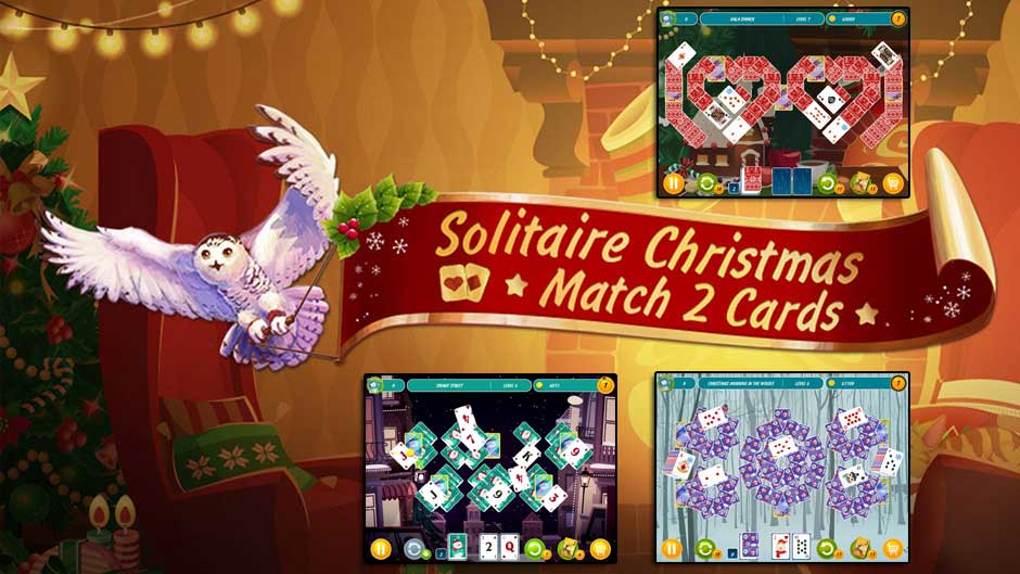 solitaire-christmas-match-2-cards-feature