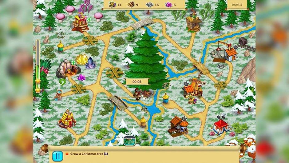 Gnomes Garden Christmas Story Deluxe - Zylom