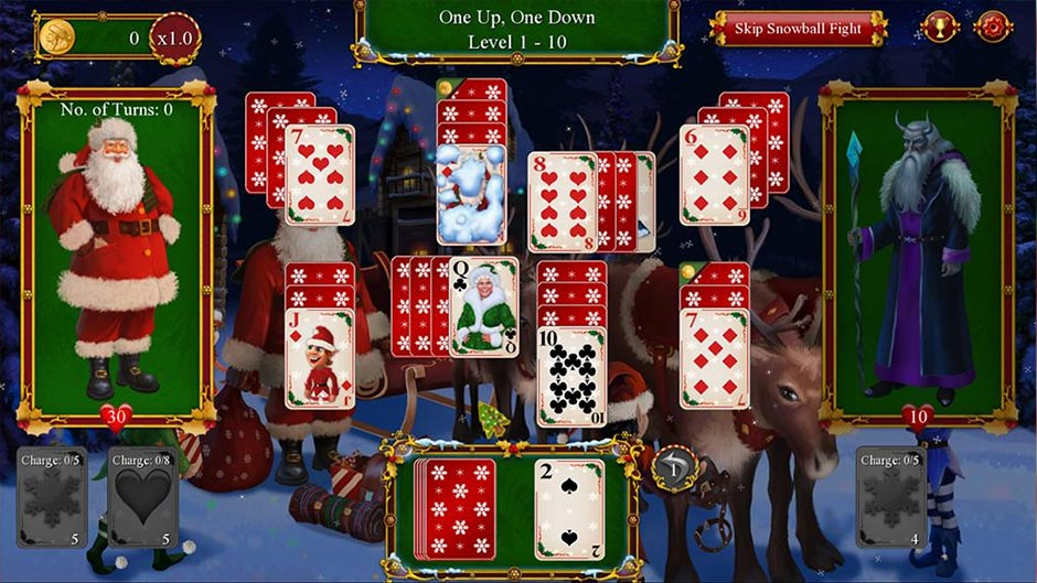 Santa's Christmas Solitaire 2 Deluxe - Zylom