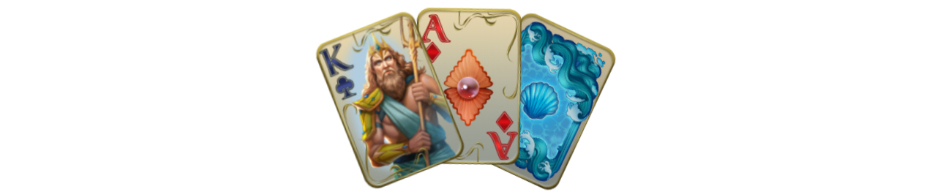Jewel Match Atlantis Solitaire Collector's Edition_Cards