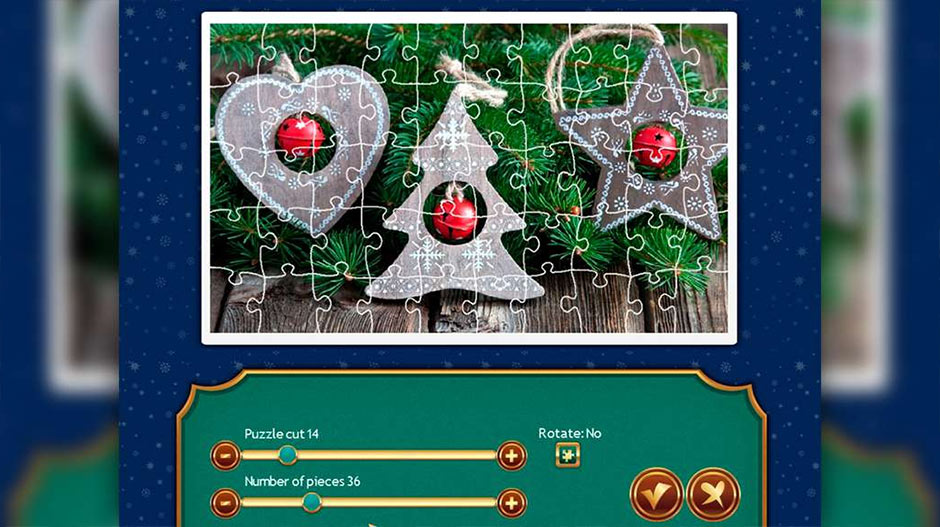 Holiday Jigsaw Christmas 4 Deluxe - Zylom